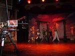 Skupina 5Angels v akci na prknech pražského divadla Broadway.